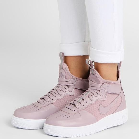 251a7c9dd Nike Shoes   Ultraforce Plum Fog Leather Mesh Sneakers   Poshmark